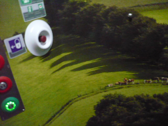 Irish Rail Toilet Landscape