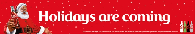 Coca Cola Holidays are Coming ad