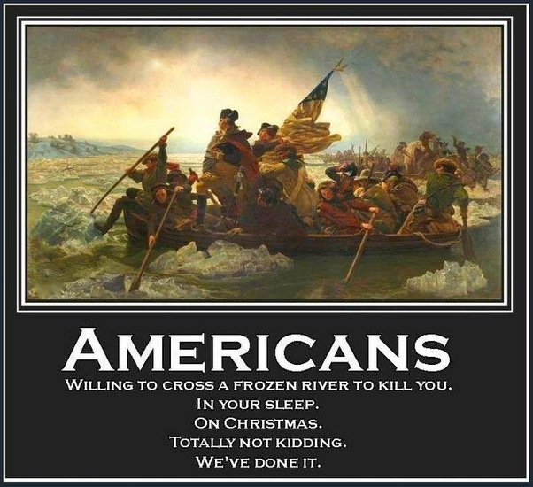 Crossing the Delaware Demotivation