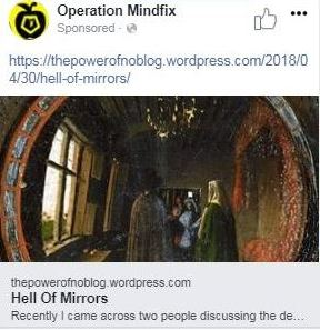Operation Mindfix Facebook Ad