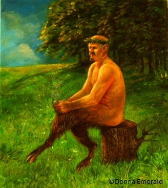 Satyr With A Pipe