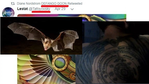 bat tattoo lestat