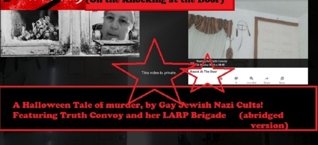 Denise Matteau Truth Convoy gay jewish nazi cults